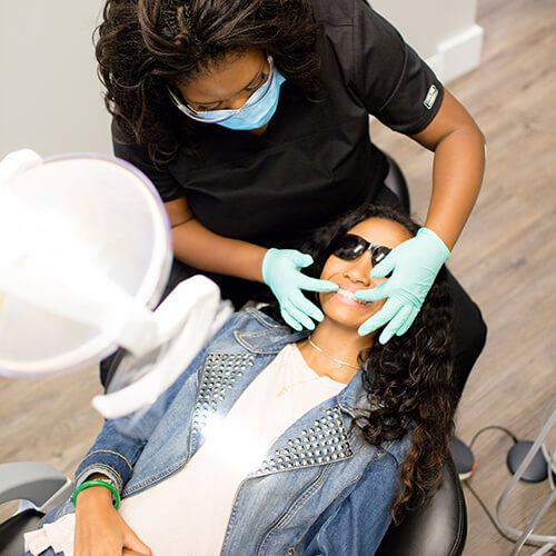 Image of the comforts your dentist in CITY provides