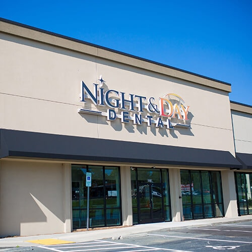 The Charlotte dental office of Night & Day Dental